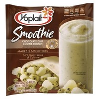 Yoplait Chocolate Chip Cookie Dough Smoothie 7.6 oz