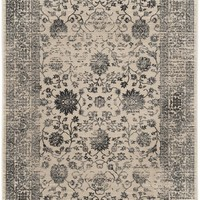 Evoke 500 Transitional Indoor Area Rug Beige / Blue