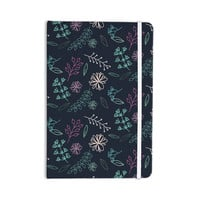 """Louise """"Flower III"""" Blue Teal Everything Notebook"""