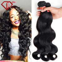 Brazilian Wave 4 Pcs Hair Products Virgin Unprocessed 100% human hair  Grade 5A