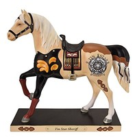 Trail of the Painted Ponies Tin Star Sheriff Figurine