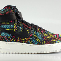 Nike Men's Air Force 1 High QS BHM - Black History Month 2016