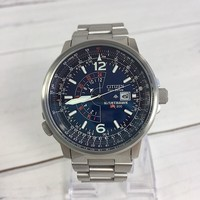 Citizen Eco-Drive Blue Dial Nighthawk Men's Watch (New - No Tag)