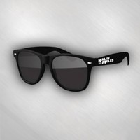 Kalin and Myles - Black sunglasses PRE-SALE [KAMD4013]: Now Just $10.00