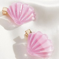 Totally Beachin' Shell Hair Clip Set | Urban Outfitters