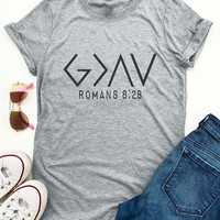 God Is Greater Than The Highs And Lows T-Shirt - Bellelily