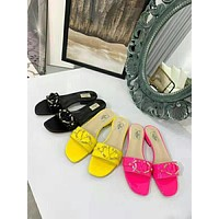Valentino Classic summer slippers