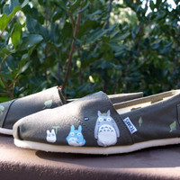 Made to Order  OOAK Hand Painted Custom Toms  by KammysOneOfAKind
