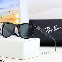 RayBan trend men and women models driving outdoor sports large frame retro polarized sunglasses #3