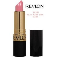Revlon Super Lustrous Lipstick PEARL 616 WINK FOR PINK (ONE(1)TUBE)