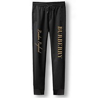 Burberry Fashion Casual Simple Pants Trousers