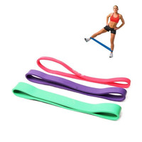 Practical Short Type Resistance Loop Bands For Workout Exercise Pilates Yoga Crossfit Strength Weight Training Fitness Gym [7670062790]