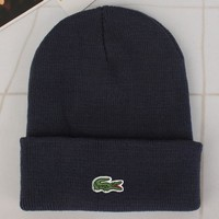 Lacoste Fashion Edgy Winter Beanies Knit Hat Cap-8