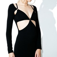 iHeart Cut Out Bodycon Dress