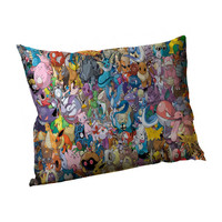 Pokemon Front and Back All Over Print Pillowcase Standard Bed Pillowcase 21x31