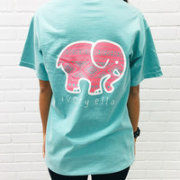 Chalky Mint Aztec Tee