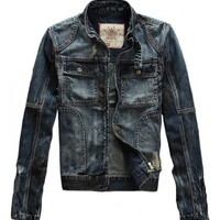 Seabar 114 Premium Denim Jacket - leatherandcotton