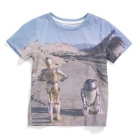Boy's Mighty Fine ' Star Wars - Hipster Droids' Print T-Shirt,