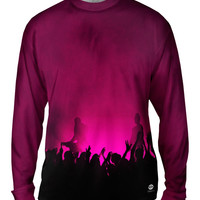 Edm Music Makes The Crowd Pink
