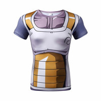 dragon ball z shirt vegeta armor