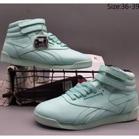 Reebok 2018 counter leisure casual high top sports shoes F-A36H-MY green