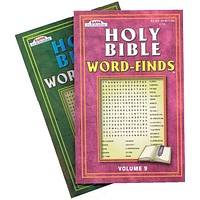 Holy Bible Word-Finds