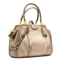 Coach :: Madison Pinnacle Zig Zag Perforated Lilly