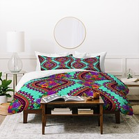 Aimee St Hill Ivy Teal Duvet Cover