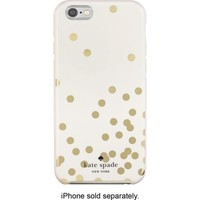 kate spade new york - Confetti Hybrid Hard Shell Case for Apple® iPhone® 6 - Gold/Cream