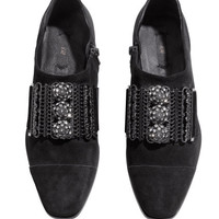 Low-heeled Shoes - from H&M