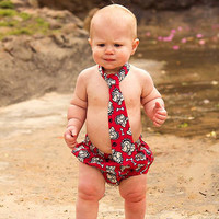 Who Let the Dogs Out...Cake Smash Birthday Outfit, Baby Clothes, Toddler Boy, infant to 24 months Railroad