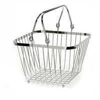 Square Wire Basket with Handles