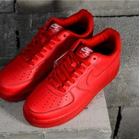 "Nike Air Force 1 '07 ""Gym Red"" AH6512-991"