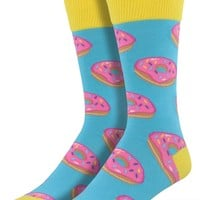 Tasty Donut Men's Crew Socks