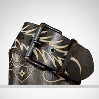 Flame Chain Inlay Belt