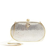Buy Judith Leiber Minaudiere Crystal Small Metallic 397903