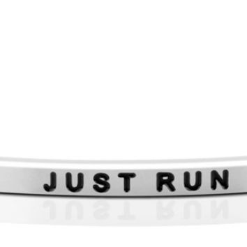 Just Run bracelet from MantraBand