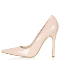 GALLOP Patent Court Shoes - Pink