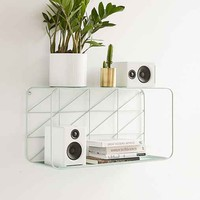 Diagonal Grid Shelf