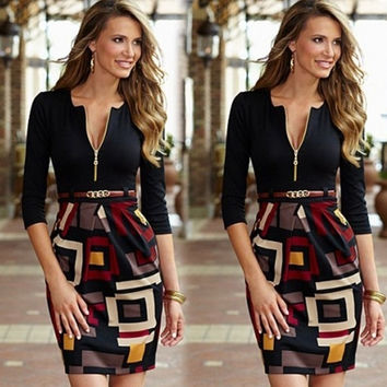 New Women's Summer Sexy Floral Casual Party Evening Cocktail Short Mini Dress = 5618640193