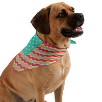 Nick Nelson Zig Zag Flag Pet Bandana