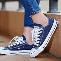 Fashion Online Converse Fashion Reflective Sneakers Sport Shoes