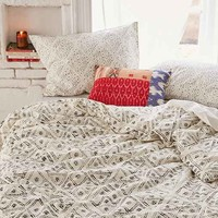 4040 Locust Dotted Diamond Duvet Cover
