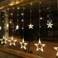 Bulbs Globes Balls Five-pointed star Fairy String Lights LED Lamps Christmas Party Decor = 1946133572