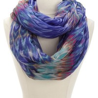 OMBRE IKAT INIFINITY SCARF