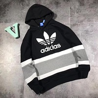 ADIDAS Woman Men Fashion Hoodie Top Sweater Pullover