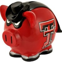 Texas Tech Red Raiders Small Thematic Piggy Bank