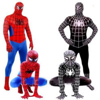 Spiderman Spider Man Venom Superhero Cosplay Costume Lycra material youth and adult sizes