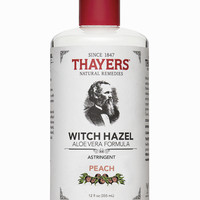 Thayers Peach Witch Hazel Astringent - Thayers Natural Remedies