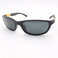 Cheap Ray Ban Kids 9056 195/87 Matte Black Yellow Gray New Sunglasses Authentic outlet